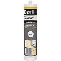 Diall Window & door White Frame Sealant, 300ml