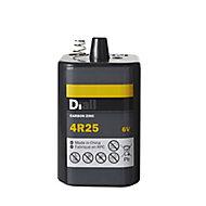Diall Zinc carbon batteries Non rechargeable 4R25 Battery