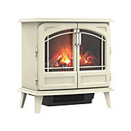 Dimplex Opti-myst Grand Cream Cast enamel effect Electric Stove