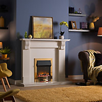 Dimplex Optiflame Brass effect Electric Fire