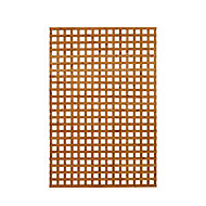 Dip treated Trellis panel (W)1.22m (H)1.83m, Pack of 5