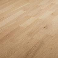Dulang Natural Oak Real wood top layer Flooring Sample
