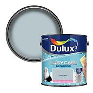 Dulux Easycare Bathroom Coastal grey Soft sheen Emulsion paint 2.5L