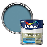 Dulux Easycare Kitchen Stonewashed blue Matt Emulsion paint 2.5L