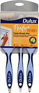 Dulux Perfect finish Paint brush, Pack of