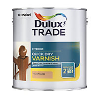 Dulux Trade Clear Gloss Wood varnish, 1L