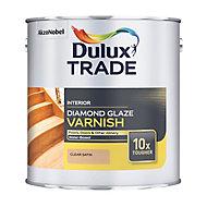 Dulux Trade Diamond Clear Satin Floor Wood varnish, 1000L