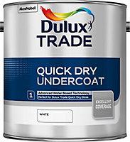 Dulux Trade White Metal & wood Undercoat, 2.5L