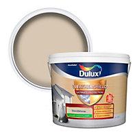 Dulux Weathershield Ultimate protection Sandstone Smooth Matt Masonry paint, 10L