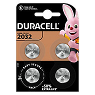 Duracell Non-rechargeable CR2032 Battery, Pack of 4