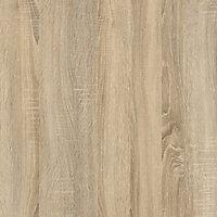 Ebru White oak effect Painted 4 Shelf Bookcase (H)1804mm (W)551mm (D)481mm