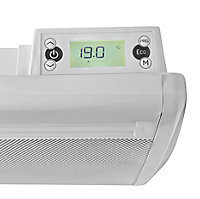 Electric 1500W White Dillam Panel heater