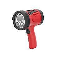 Energizer Red & black Plastic 600lm LED Spotlight