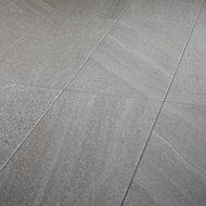 English Greige Satin Stone effect Porcelain Floor Floor tile Sample
