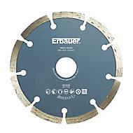 Erbauer (Dia)125mm Segmented diamond blade