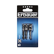 ErbauerNut drivers146mm, Pack of 3