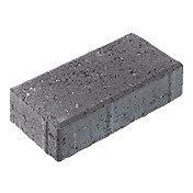 Europa Charcoal Block paving (L)200mm (W)100mm