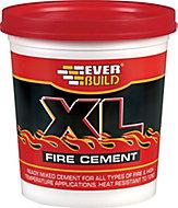 Everbuild XL Ready mixed Fire cement, 2kg Tub