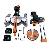 Evolution 2000W 240V 255mm Sliding mitre saw R255SMS