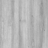 Exmoor Flush Grey Oak veneer Internal Door, (H)1980mm (W)762mm