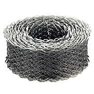 Expamet Galvanised Galvanised steel Coil lath, (L)20m (W)65mm