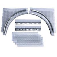 Expamet Galvanised steel Arch former (L)760mm (W)230mm