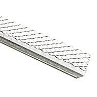 Expamet Galvanised steel Bellcast bead, (L)3m (W)65mm