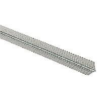 Expamet Mini mesh Steel Angle bead (L)2.4m (W)25mm