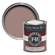 Farrow & Ball Sulking room pink No.295 Gloss Metal & wood paint, 0.75L