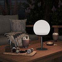 Finster Dark grey Battery-powered Neutral white LED Indoor & outdoor Decorative light