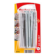 Fischer Countersunk Frame fixing (L)100mm (Dia)10mm, Pack of 4
