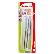 Fischer Washer Frame fixing (L)80mm (Dia)8mm, Pack of 4