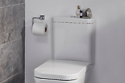 How to install a toilet roll holder