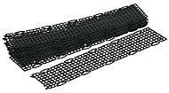 FloPlast Black Gutter guard (L)500mm, Pack of 10