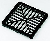 FloPlast Black Square Gutter grid (L)150mm