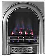 Focal Point Arch Chrome effect Manual control Gas Fire FPFBQ102