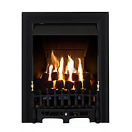 Focal Point Blenheim multi flue Black Gas Fire