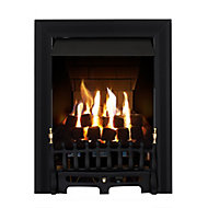 Focal Point Blenheim multi flue Black Gas Gas fire