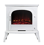 Focal Point Dalvik White Electric Stove