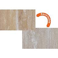 Focal Point Limestone & sandstone Stone effect Hearth, (L)1334mm (W)1334mm (D)362mm