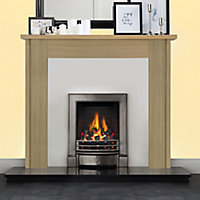 Focal Point Michigan Oak Fire surround