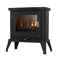 Focal Point Svelvik Black Gas Stove