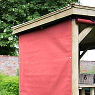 Forest Garden Orange Rectangular Side curtain, (W)1.65m - Assembly not required