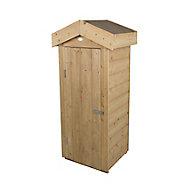 Forest Garden Shiplap Wooden 2x2 Apex Garden storage