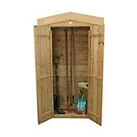 Forest Garden Shiplap Wooden 3x2 Apex Garden storage