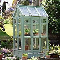 Forest Garden Victorian walkaround 4x3 Styrene Apex Greenhouse