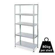Form Axial 5 shelf Steel Shelf unit