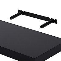 Form Cusko Black Floating shelf (L)800mm (D)235mm