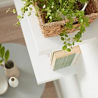 Form Cusko White Floating shelf (L)600mm (D)235mm