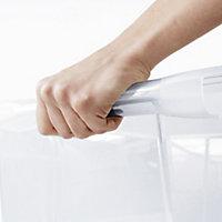 Form Kaze Clear 63L Plastic XXL Stackable Storage box